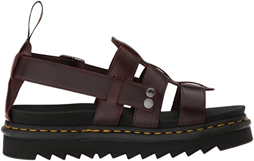 Dr.Martens Womens Terry Leather Sandals Charro