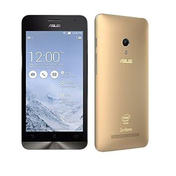 889c097988b0 ASUS Zenfone 5 Smartphone Android 4.3 Intel Atom Z2580 3G 2.0GHz 5.0  Pulgada Gorilla Glass 2GB 16GB Doble Cámaras Oro  Amazon.es  Electrónica
