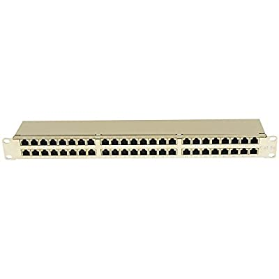InstallerParts Cat 5E 1U 48Port Patch Panle STP
