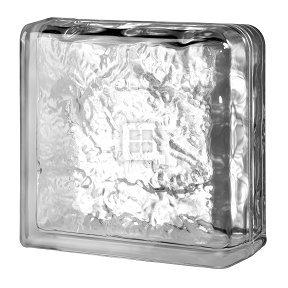 Cortina Blocks - Quality Glass Block 8 x 8 x 4 Cortina Double End Block Glass Block
