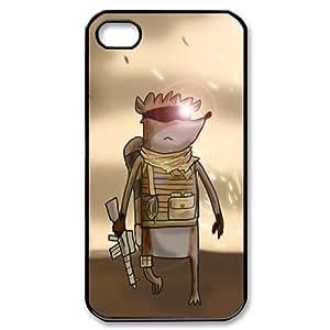Regular Show Popular Cartoon DIY Custom Hard Plastic Back Case Cover for iPhone 4 4s
