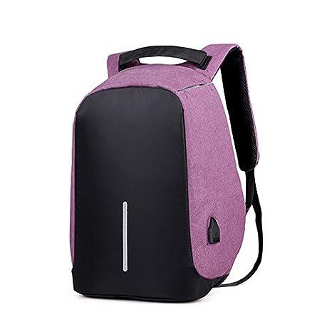 2018 Nuevo paño de Oxford doxungo Unisex USB puerto de carga (hasta 17 pulgadas) ordenador portátil mochila escuela mochila bolso bolsa mochila negocio ...