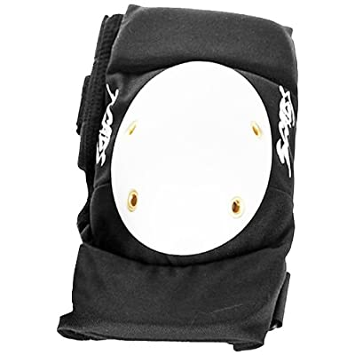Smith Safety Gear Elite Elbow Pad (Black/White, Small/Medium)
