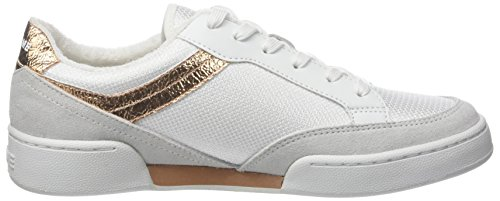 02 aquadilla Donna Bianco Basse pink Noname Basket white Game Suede ZqxUxpgz