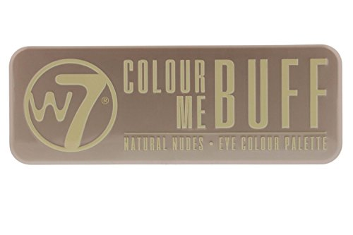 W7 Colour Me Buff Natural Nudes Eye Shadow Colour Palette