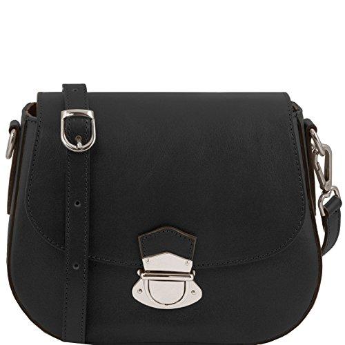 Tuscany Leather TL Neoclassic - Bolso en piel - TL141517 (Negro) Negro