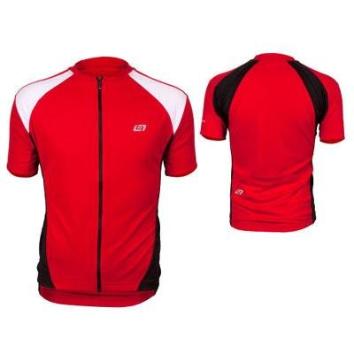 Bellwether 2013/14 Men's Pro Mesh Short Sleeve Cycling Jersey - 91183 (Red - S)
