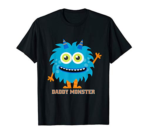 Funny Daddy Monster Costume T-Shirt]()