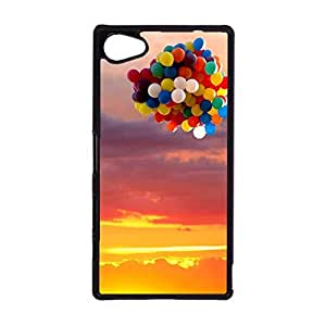 Sony Xperia Z5 Compact Phone Case,Colourful Creative Hot Air Balloon Pattern Hard Delicate Protective Case Cover for Sony Xperia Z5 Compact