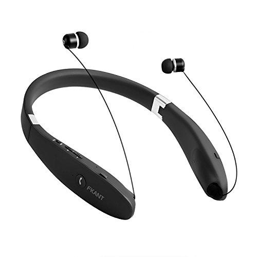 FKANT Bluetooth Neckband Headset Super Long Battery Life Sweatproof Wireless Headphones With MIC
