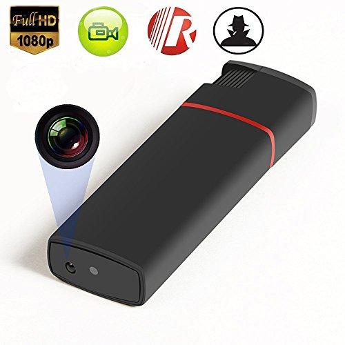 Hidden Camera HD Mini DV 1080P Lighter USB DVR Nanny Cam U Disk Video Recorder Portable IR Automatic Night Vision Without Lens - Usb Disk Hidden Hd Spy Camera