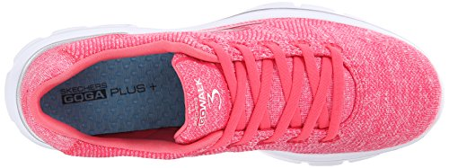 Skechers Performance Womens Go Walk 3 Stretch Scarpa Da Passeggio Rosa