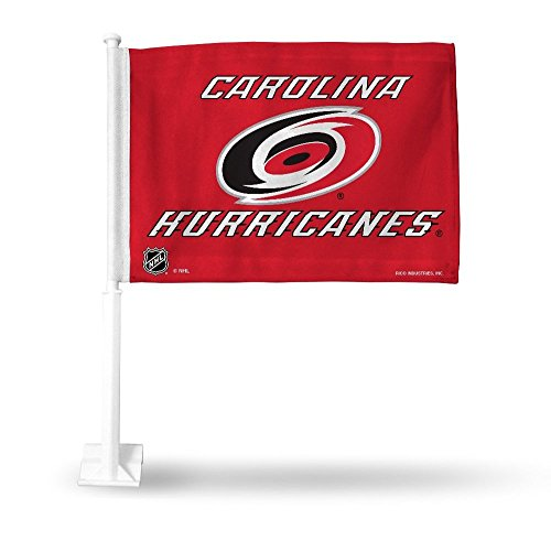 - Rico Industries NHL Carolina Hurricanes Car Flag