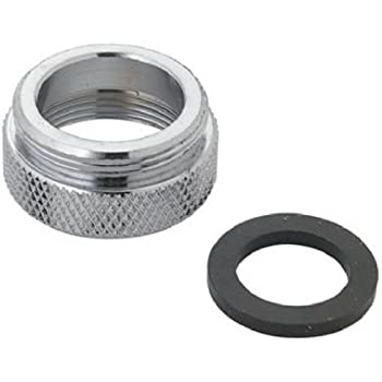 LASCO 09-1641NL No Lead, Female To Male Faucet Adapter - Faucet ...
