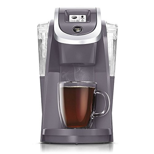 Best of Keurig K250 PLUS 2.0, Brewing System Single Serve Plus Coffee Maker, PLUM GRAY (Newest Color, Very Rare)