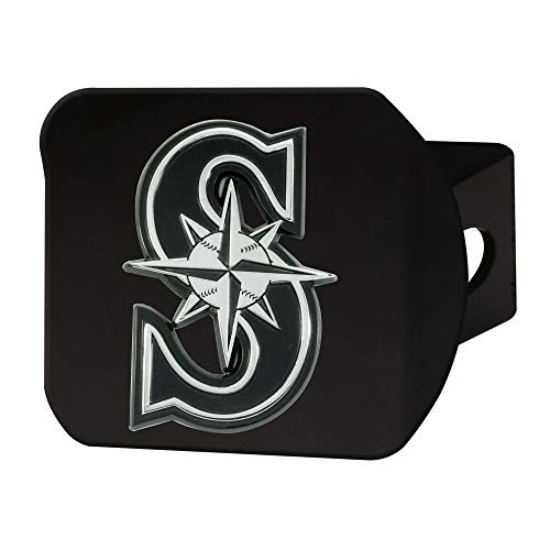 FANMATS MLB - Seattle Mariners Hitch Cover - Black ()