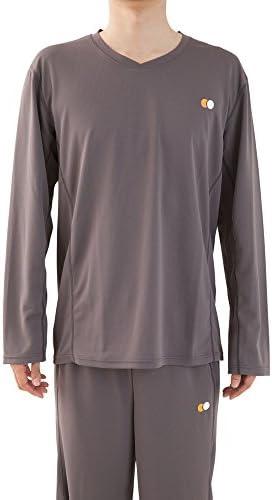 日本製 快眠に特化した高機能 パジャマ 部屋着 『スリープウェア』 メンズ 長袖 トップス
