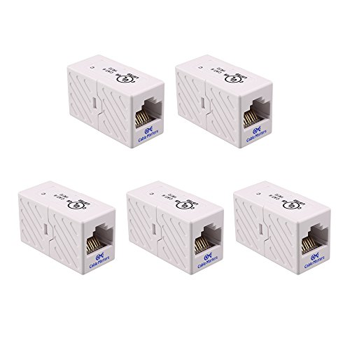 Cable Matters Line Coupler White