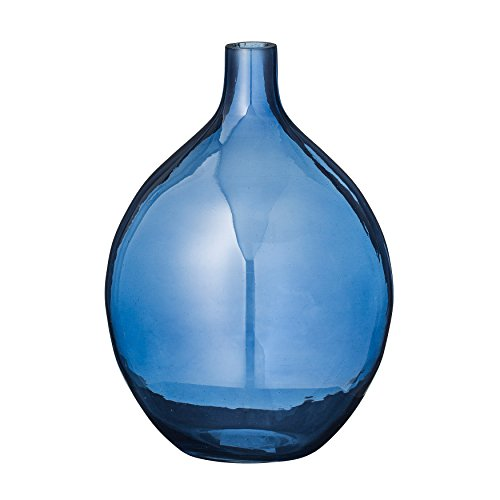 Bloomingville Transparent Navy Glass -
