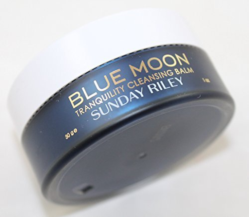 Sunday Riley Blue Moon Tranquility Cleansing Balm 1 ounce Travel Size Unboxed by Sunday Riley