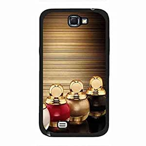 DIY Nail Polish YSL funda Back Cover For Samsung Galaxy Note 2 Nail Polish YSL Picture Case