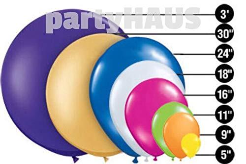kakroz Rose Gold Confetti Balloons, Metallic, Latex Balloons, 11
