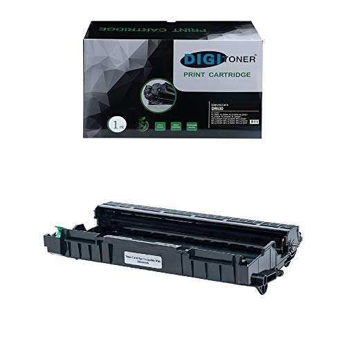 (DIGITONER High Yield Compatible Drum Unit Replacement for Brother DR630 DR-630 High Yield Drum for HL-L2300D, HL-L2305W, HL-L2320D, HL-L2340DW, HL-L2360DW, HL-L2380DW; DCP-L2520DW, DCP-L2540DW)