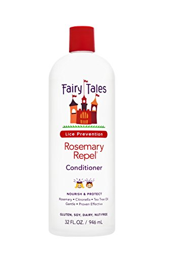 Fairy Tales Rosemary Repel Daily Kid Conditioner for Lice Prevention, 32 Fl. Oz (Pack of 1)