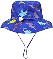 Happy Cherry Bucket Hat Kids Cap Sun Hats Beach Breathable Summer Vacation UPF 50+ Todder