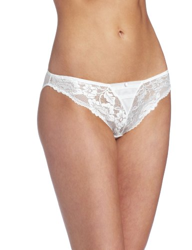 Jezebel Women's Ideal Bikini Brief, Ivory, Medium