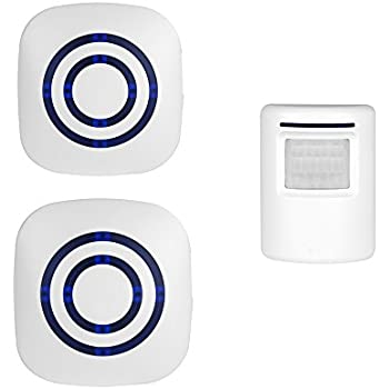 Wireless Infrared Doorbell With Customize Voicesongs Function