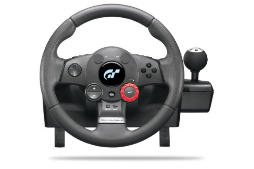Logitech PlayStation 3 Driving Force GT Racing Wheel (Best Controller For Euro Truck Simulator 2)