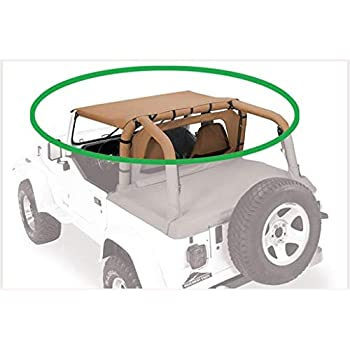 Amazon.com: Cortina de cabina con extremos de pavimento ...