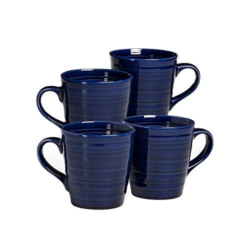 - overandback 816286 Circo Blue Mugs, Set of 4,