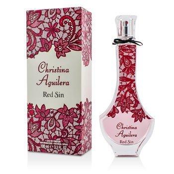 Christina Aguilera Red Sin Eau De Parfum Spray, 3.3 Ounce