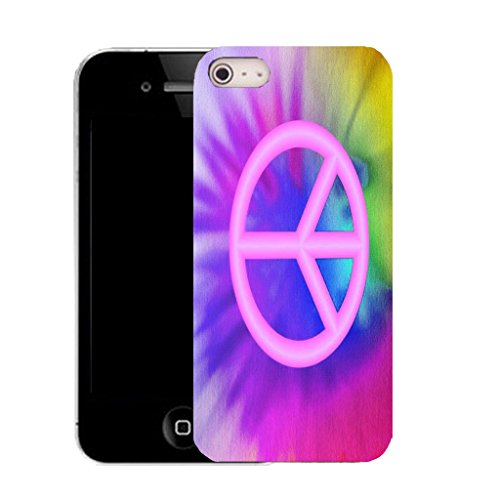 Mobile Case Mate IPhone 5S clip on Silicone Coque couverture case cover Pare-chocs + STYLET - multi coloured paintboard pattern (SILICON)