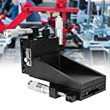 XYZ Axis Linear Stage, XYZ High Accuracy Cross Roller Linear Motion Manual Stage Sliding Table for Laboratory Accuracy Inspection Positioning 80 * 80mm