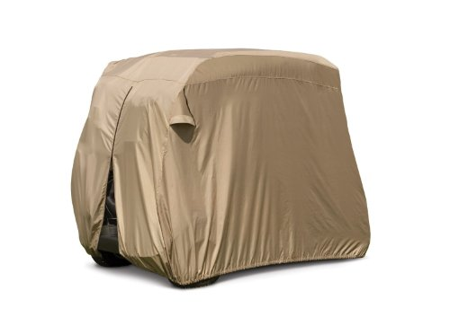 Classic Fairway Golf Cart Easy-On Cover, Tan, Fits Club C...