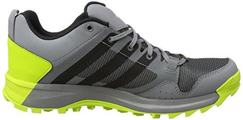 Adidas Uomini Kanadia 7 Tr Trail Gtx Scarpe Da Corsa Più Colore (grigio A Tre / Interno Nero / Giallo Solare Semi)