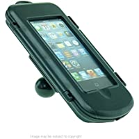 IPX4 Waterproof Hard Shell Case for Apple iPhone 5S with 1 Ball Adapter fits RAM Motorcycle Mounts (sku 21209)