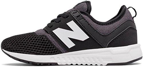 Nieuw Evenwicht 247 Klassieke Schoen Kinderen Casual Zwart-wit