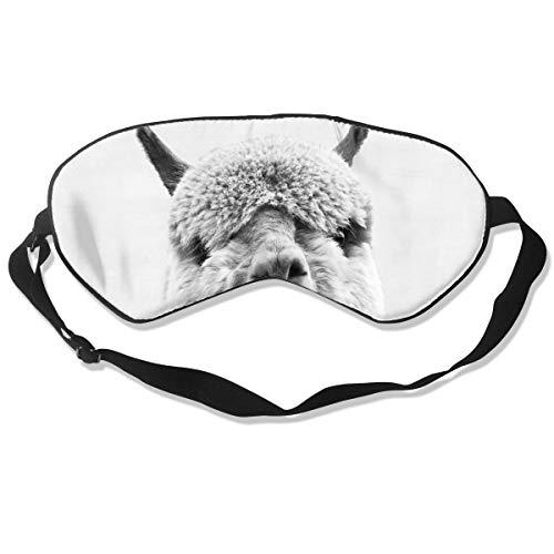 GRFER Alpaca Best Sleep Mask Travel, Nap, Adjustable Belt Eye Mask for Men and Women