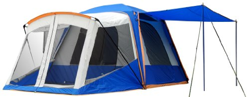 Sportz SUV Blue/Grey Tent with Screen Room (10 x10 x7.25-Feet), Outdoor Stuffs