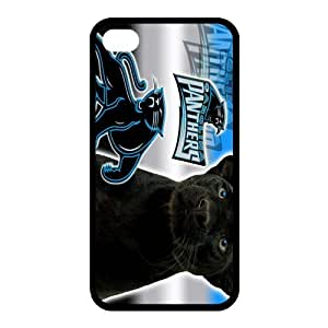 Custom Carolina Panthers NFL Back Cover Case for iphone 4,4S JN4S-1256
