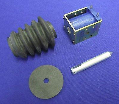 Gas Solenoid Kit - Lincoln Sa 200 Sa-250 Gas F-162 F163 12V Electric Idler Solenoid & Boot Kit