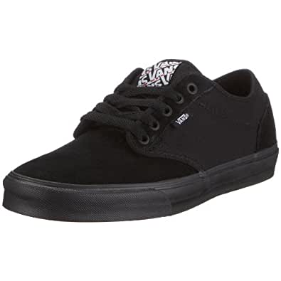 Vans Men's VANS ATWOOD SKATE SHOES 13 (BLACK/BLACK)