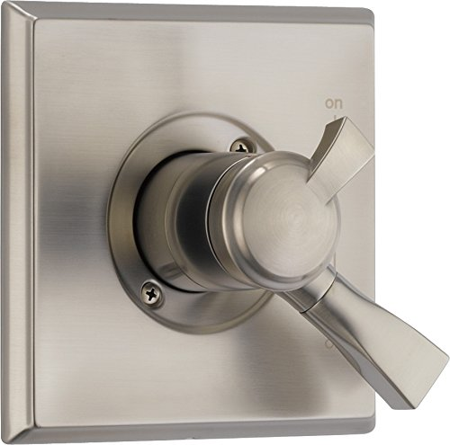 - Delta Faucet T17051-SP Dryden Monitor 17 Series Valve Only Trim, SpotShield Stainless,