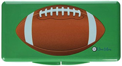 Uber Mom Wipebox, Green Football