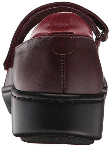 Naot Women's Adriatic Mary Jane Flat Shiraz Leather/Rumba Leather/Violet Nubuck/Beet Red Patent Leather CIcMdjg