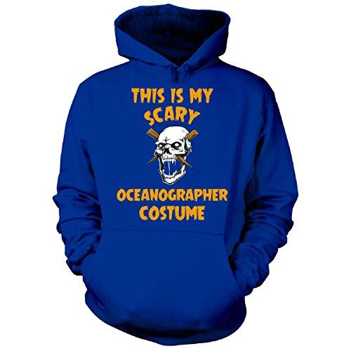 Oceanographer Costume (This Is My Scary Oceanographer Costume Halloween Gift - Hoodie Royal 2XL)